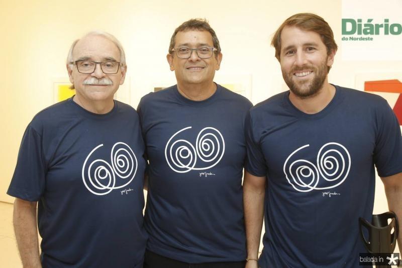 Edinilton Soares, Jose Guedes e Rodrigo Frota