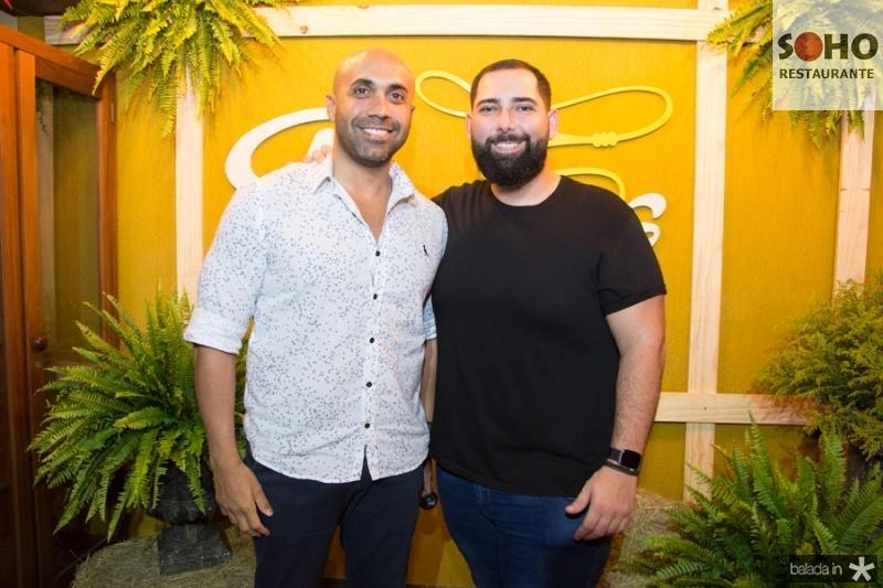 Hugo Quindere e Luiz Victor Torres