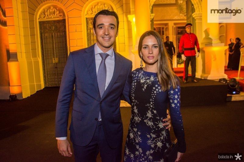 Expedito Machado e Marilia Queiroz
