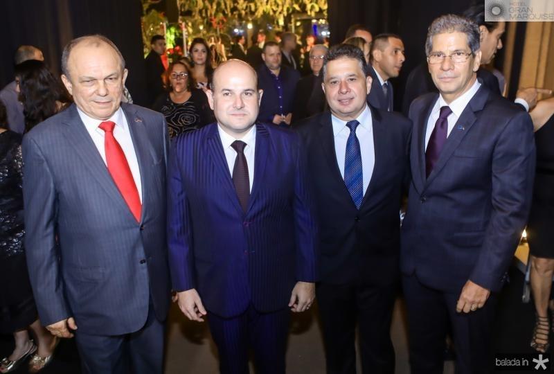 Honorio Pinheiro, Roberto Claudio, Gerado Bastos Filho e Ramalho Neto