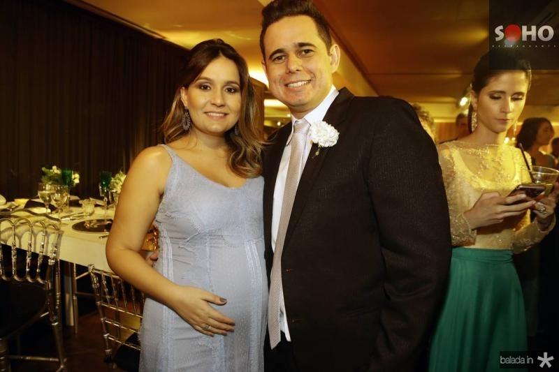 Rebeca Brasileiro e Guilherme Nobrega