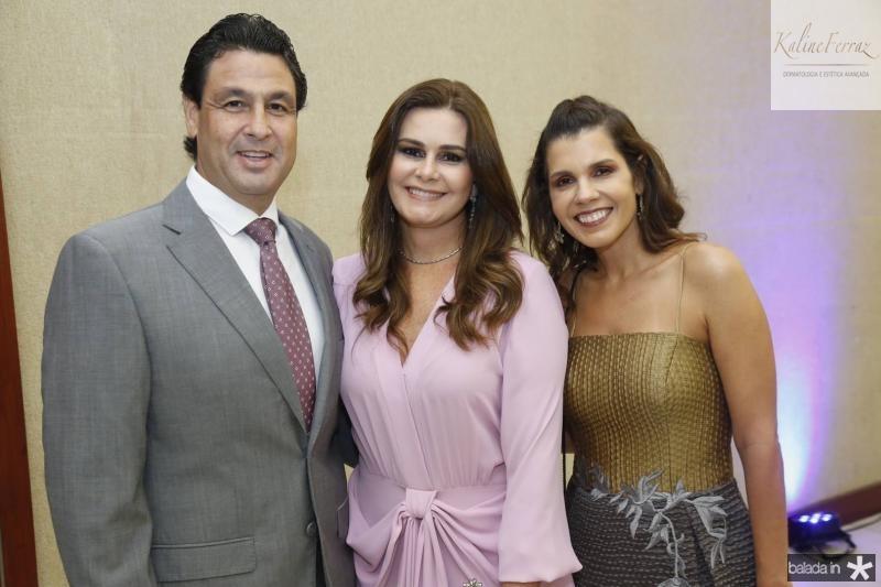 Alexandre Rangel, Ivana Bezerra e Claudia Diniz