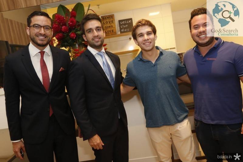 Bernado Santana, Igor Martins, Daniel Eloy e Savio Batista