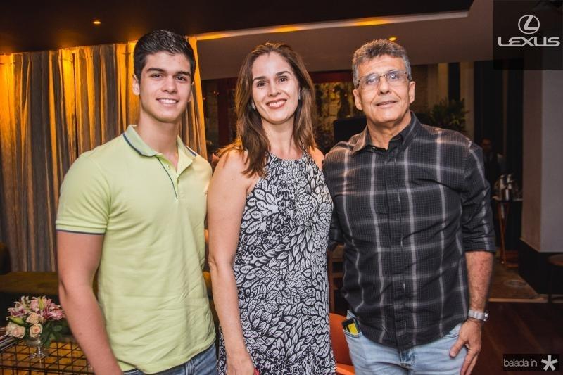 Francisco Tavora, Marcia Tavora e Chicao Viana