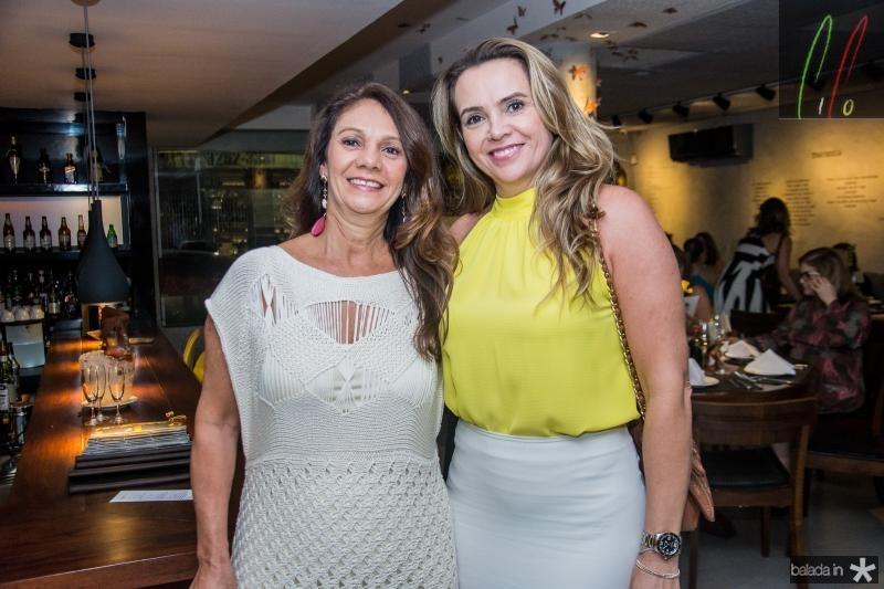 Marcia Barros e Geani Freire