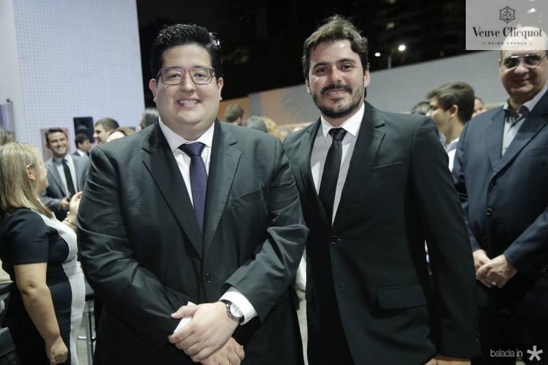 Yuri Torquato e Vitor Holanda