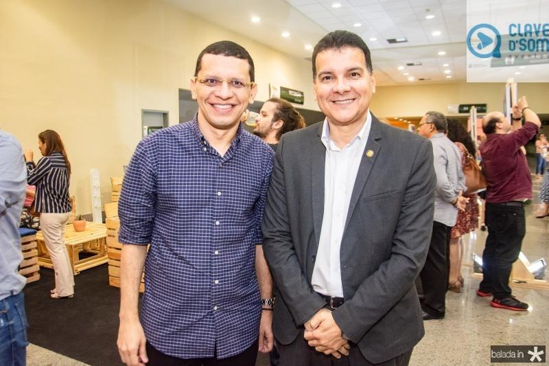 Renato Lima e Esio Feitosa