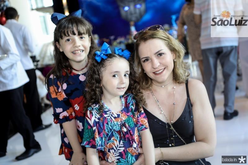 Valentina, Guilhermina e Erica Salvador