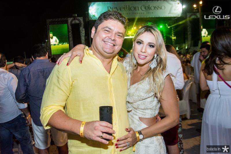 Alex Rocha e Stela Queiroga