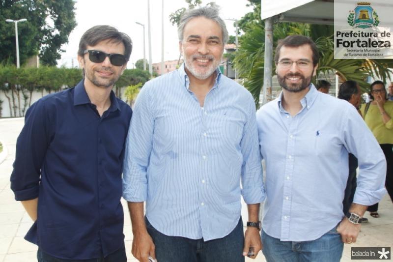 Delano Guedes, Paulo Angelin e Tomaz Figueiredo
