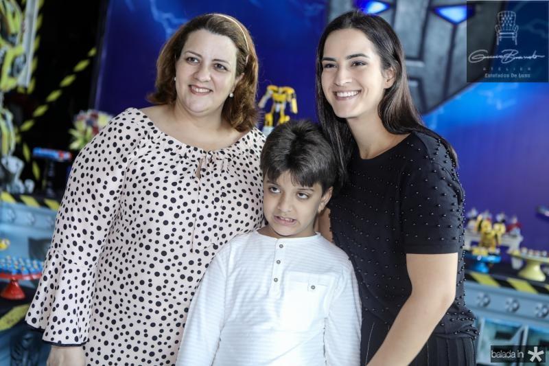 Claudia, Joao e Renata Felix