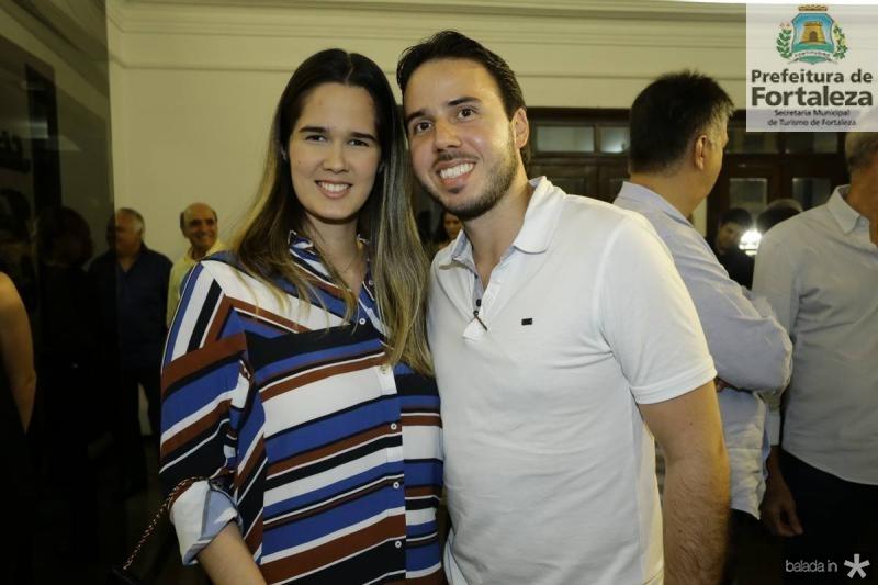 Gisele e Andre Oliveira