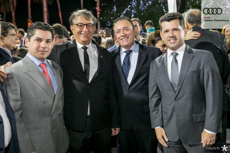 Pompeu Vasconcelos, Arialdo Pinho, Darlan Leite e Erick Vasconcelos