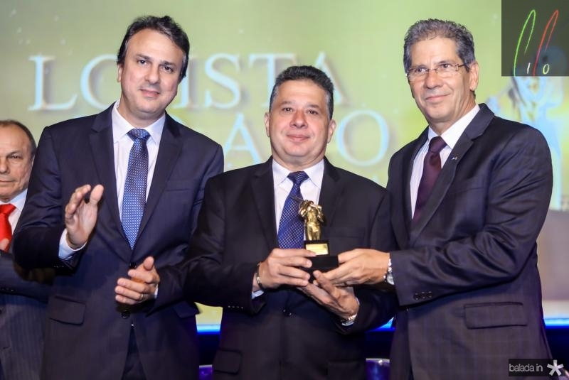 Camilo Santana, Gerardo Bastos Filho e Ramalho neto
