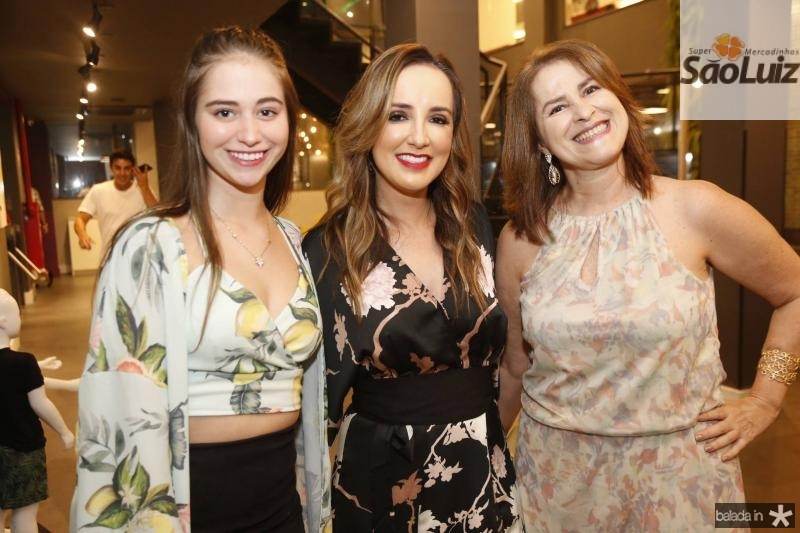 Maria Rafaela, Kaline Ferraz e Vania Mendes