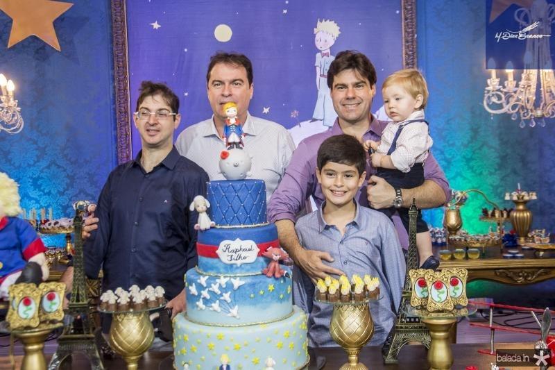Bertrand, Bertrand Boris, Raphael Boris, Bernardo Boris e Raphael Filho