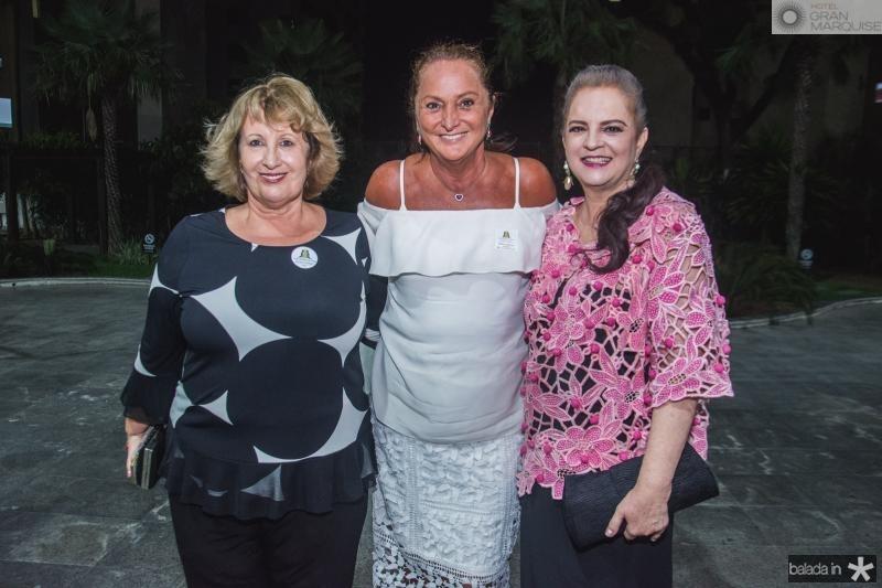 Anette de Castro, Sonia Hess e Ethel Whitehust