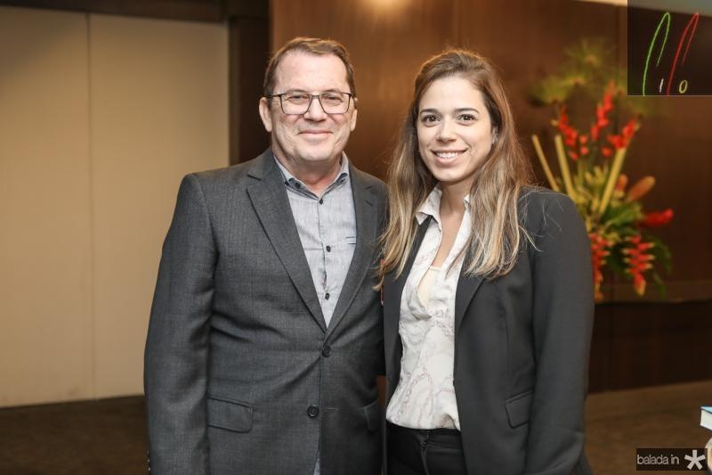 Paulo Correia e Renata Bastos