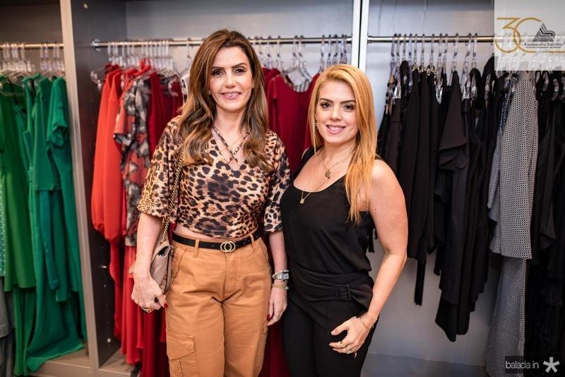 Patricia Nogueira e Leticia Studart