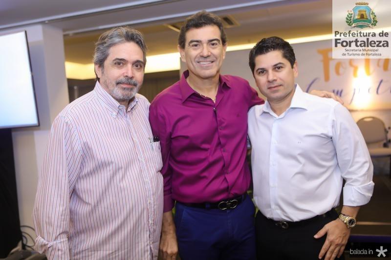Totonho Laprovitera, Alexandre Pereira e Pompeu Vasconcelos