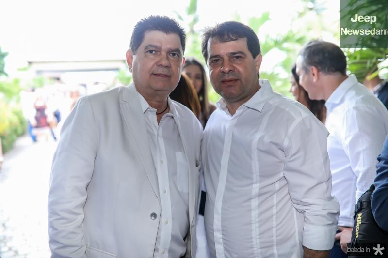Mauro Filho e Evandro Leitao