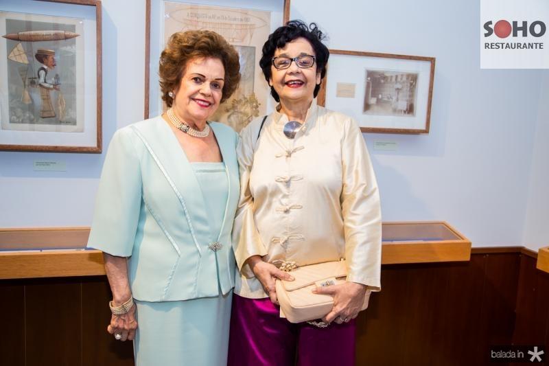 Constança Távora e Dodora Guimarães