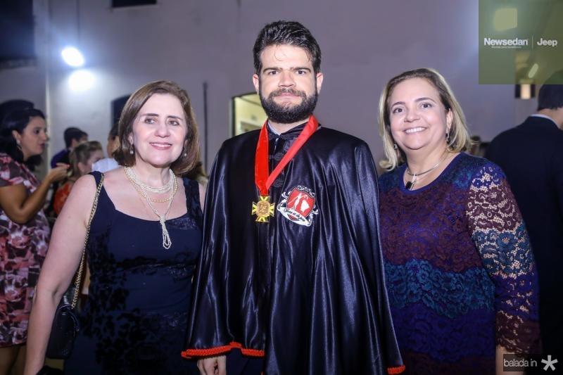 Francilene Gomes, Valter Moura e Paula Araujo