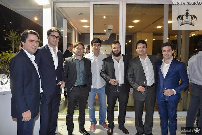 Fernando Castelo Branco,  Felipe Ronsi, Alberto Saboia, Alexandre Razan, Rafael Pordeus, Adriano Damasceno e Guilherme Macedo