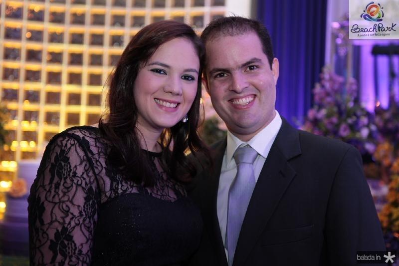 Jamile e Rafael Dantas