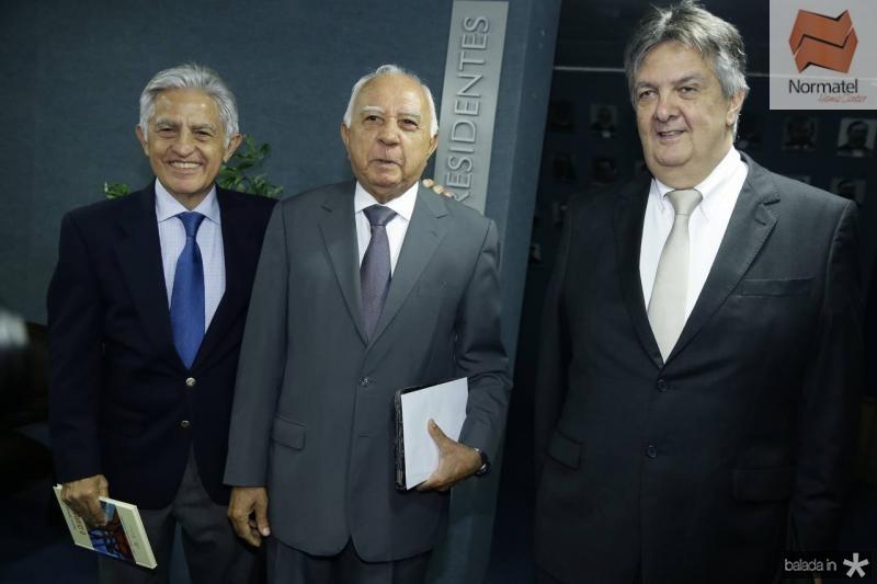 Oto de Sa Cavalcante, Edson Silva e Joao de Sa Cavalcante