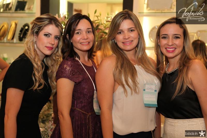 Raquel Macêdo, Kamila Monteiro e Vladia Borelo