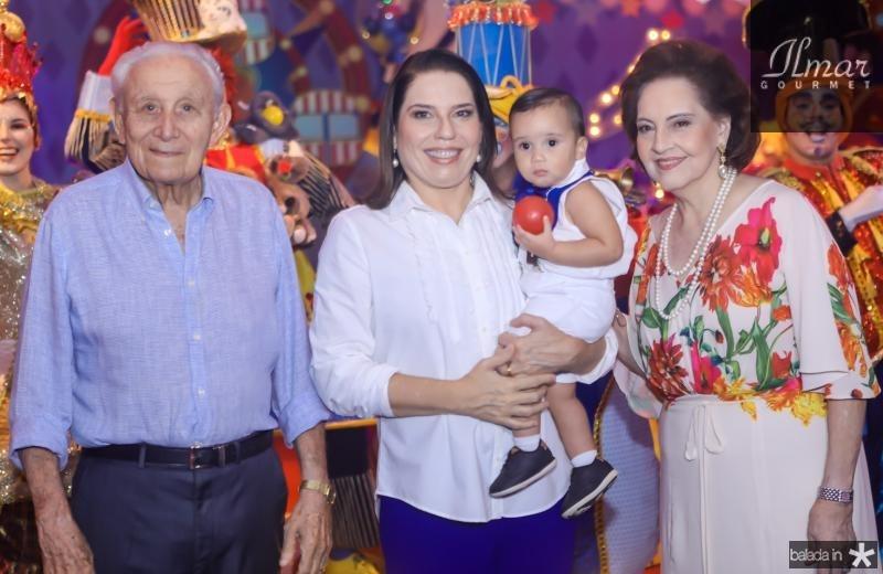 Humberto, Denise, Bento e Norma Bezerra