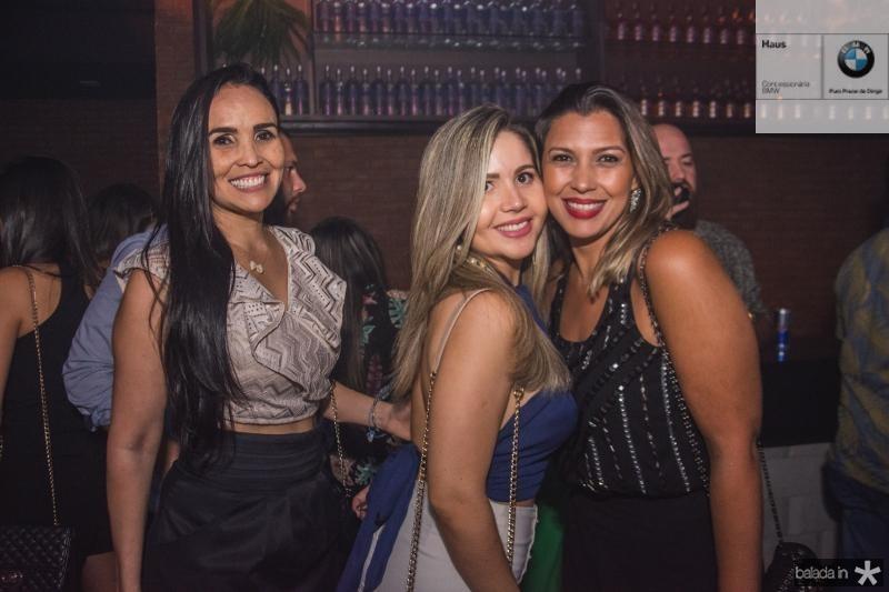 Daguilene Soares, Camile Teles e Rachel Araujo