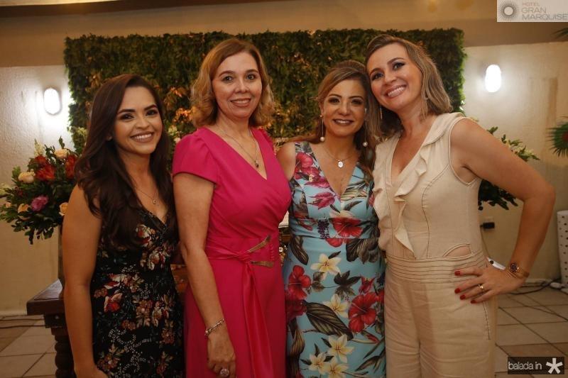 Fernanda Angelim, Conceicao Marques, Simone Cardoso e Alexsandra Macedo