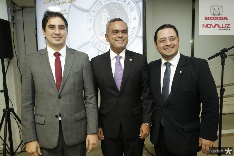 Leonardo Feitosa, Marcelo Mota e Ricardo Valente