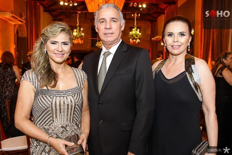 Maria Helena, Osvaldo Studart e Marilia Studart