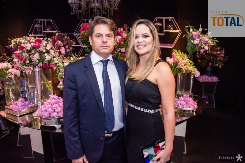 Luis Carlos e Mirela Tome