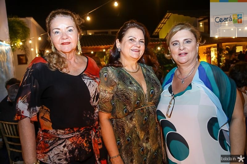 Nadja Ponte, Tercia Farias e Rita Carmona