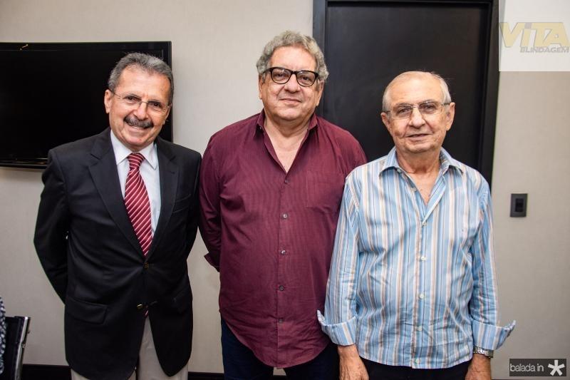 Egidio Serpa, Fred Fernandes e Alvaro Correia