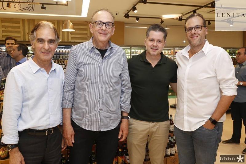 Antonio Carlos, Sergio Fiuza, Livio Parente e Serginho Fiuza