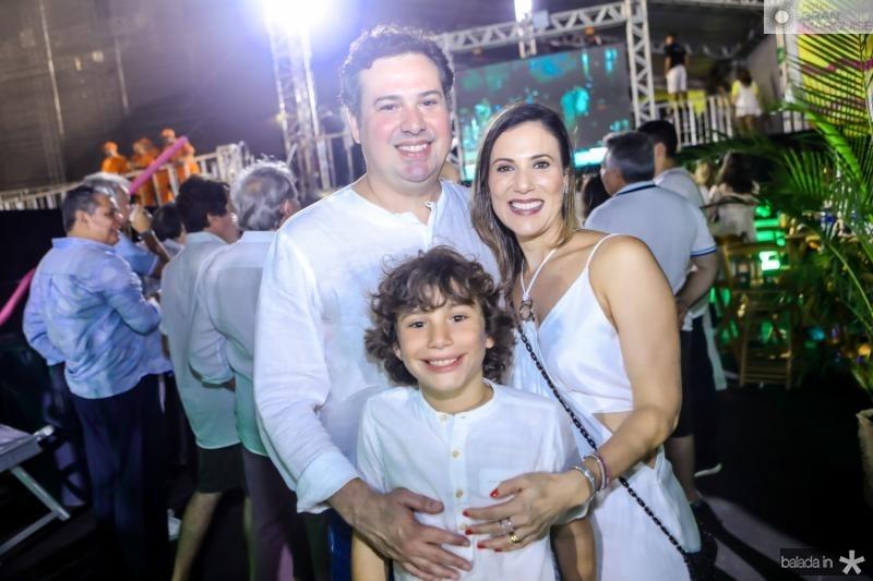 Samuel, Erica e Pedro Dias