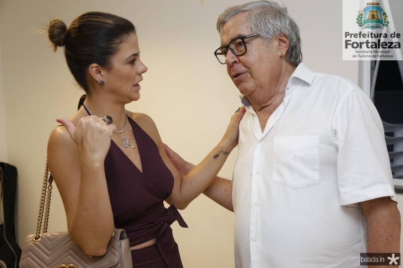 Juliana Roma e Roberto Farias