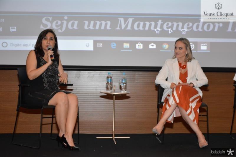 Neila Fontenele e Fernanda Pacobahyba
