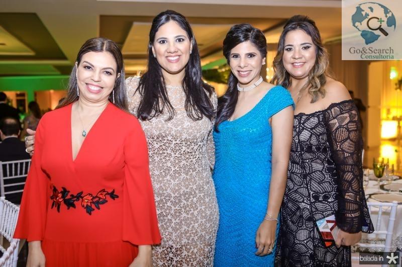 Edinice Cruz, Fernanda Cunha, Georgea Cunha e Camila Rizato