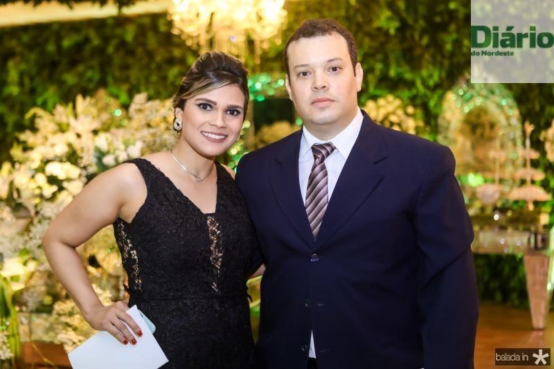 Mariana Lima e Igor Fontenele