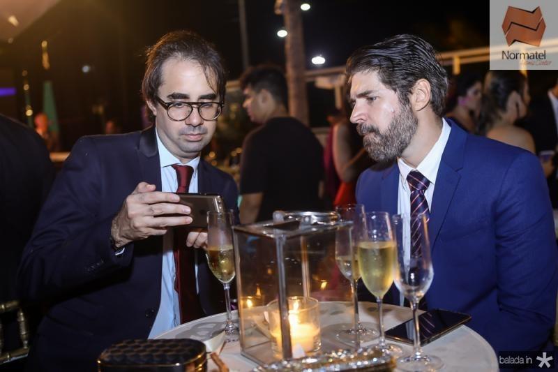 Pedro de Castro e Leonardo Brasil