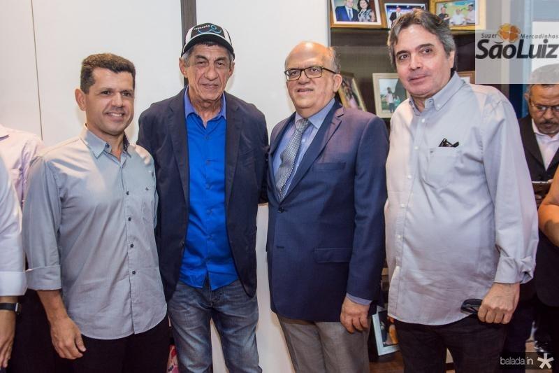 Erick Vasconcelos, Fagner Lopes, Fernando Ximenes e Totonho Laprovitera