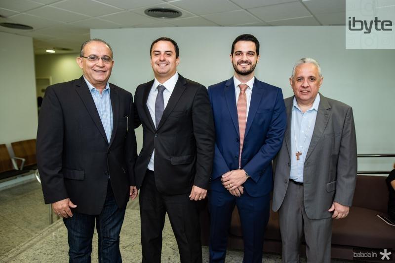 Alan Dias, Geraldo Holanda, Eduardo Carvalho e Irapuan Aguiar