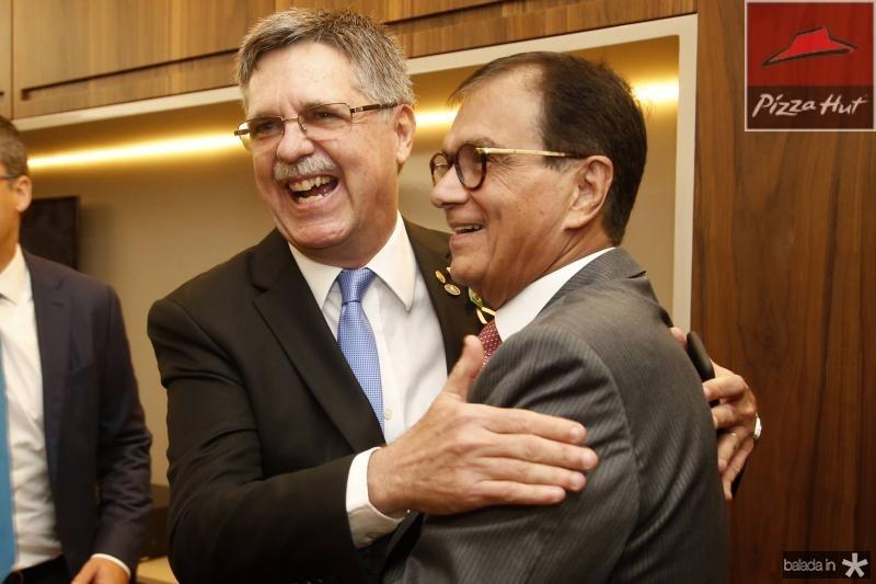 Carlos Gama e Beto Studart