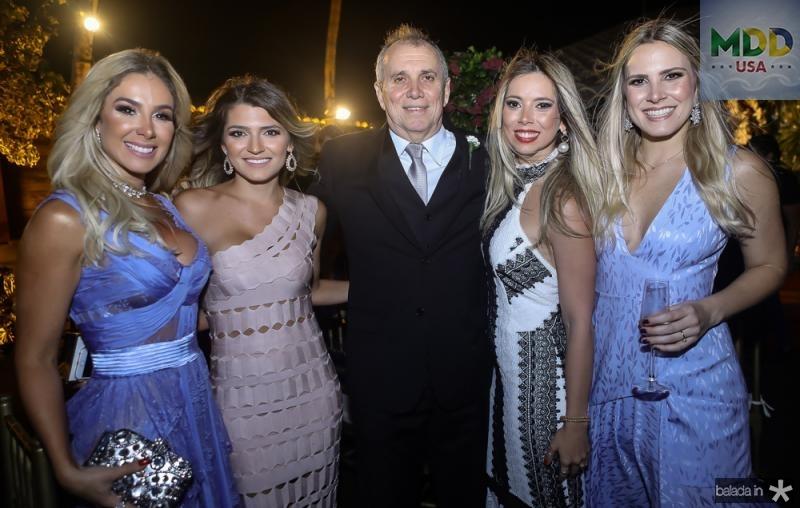 Priscila Silva, Juliana Gouveia, Newton Basto, Fabiana Hirata e Rafaela Basto